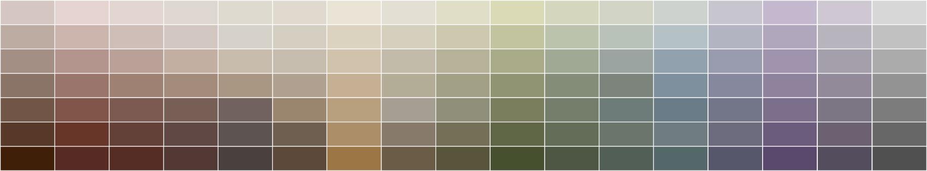 Jedi Colours