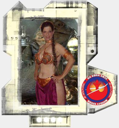 Princess Leia (Jabbau0027s Slave) A leader of the Rebel Alliance & Rebel Legion :: Viewing costume :: Princess Leia (Jabbau0027s Slave)